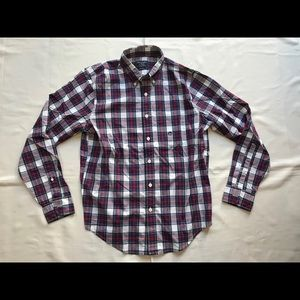 Abercrombie & Fitch Plaid Long Sleeve Casual Shirt